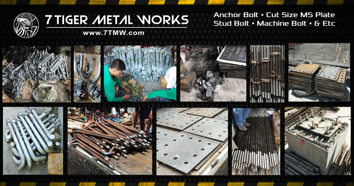 Anchor Bolt Philippines - 7 Tiger Metal Works - 7tmw