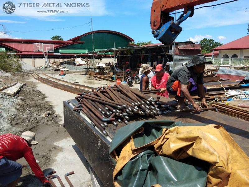 Delivery of 2.8 tons of 35mm Anchor Bolt to Tarlac City