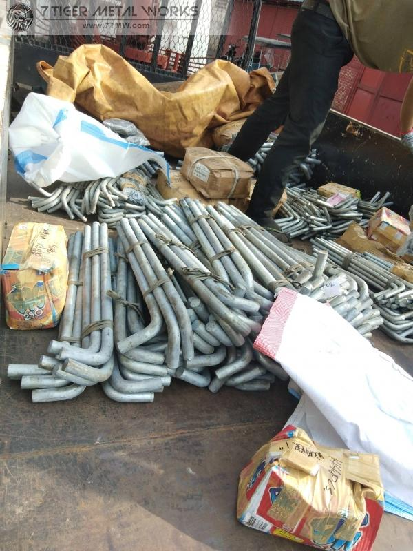 Delivery of HDG Anchor bolts to muntinlupa