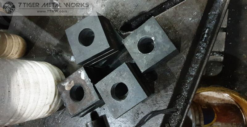 Anchor bolt with special cut plate washer order in Cagayan de oro for River Pump Irrigation Project in Philippines