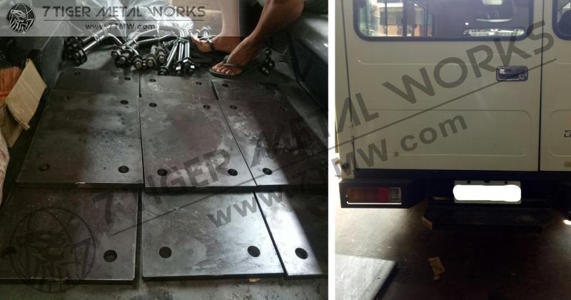 Base Plate 20mm x 300mm x 450mm w/4pcs 28mm holes